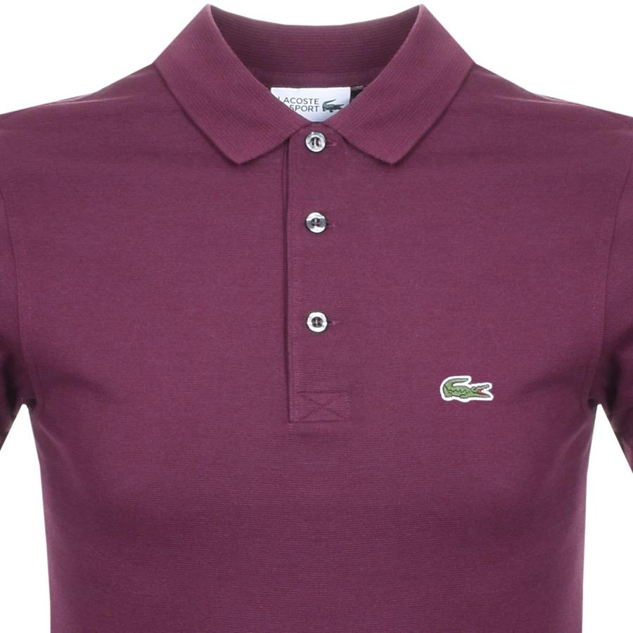 aca90f42ef613 Lacoste Sport Polo T Shirt Purple in Purple for Men - Save 14% - Lyst