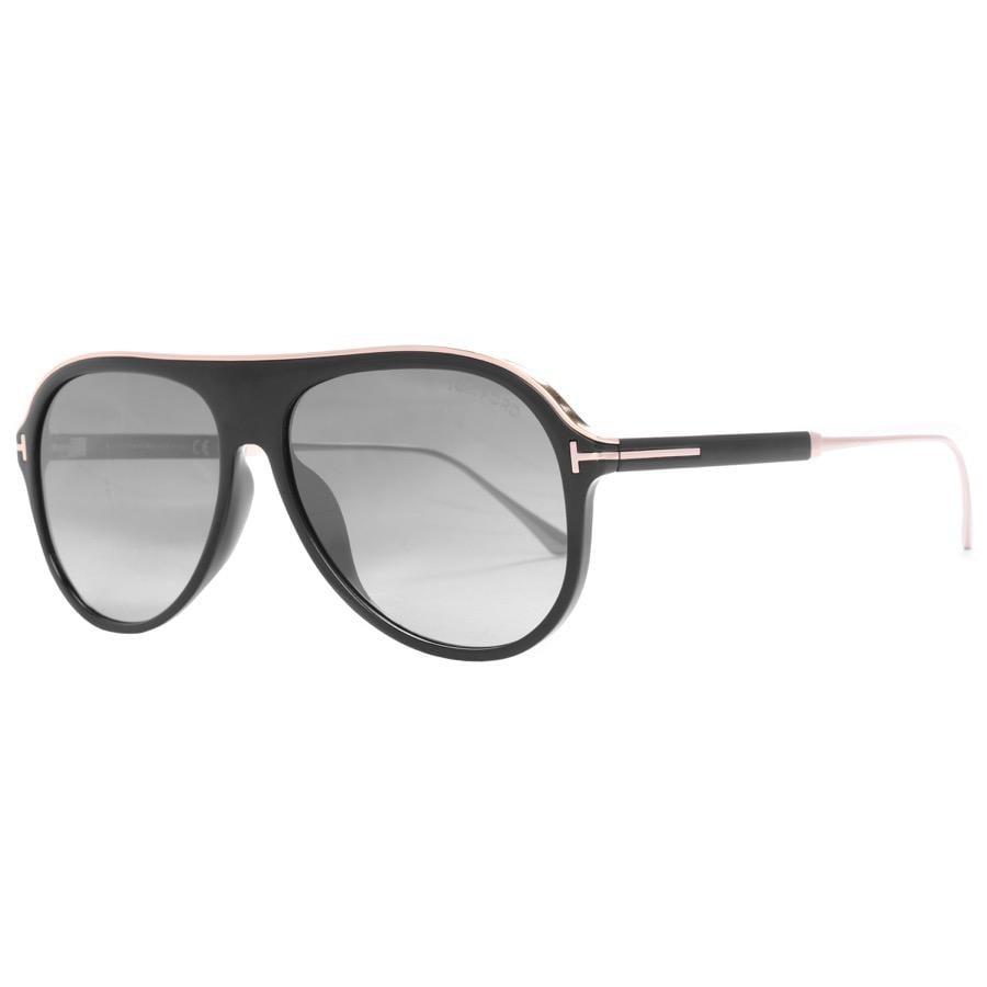 a0cddc00eeba Tom Ford Nicholai Sunglasses Black in Black for Men - Lyst