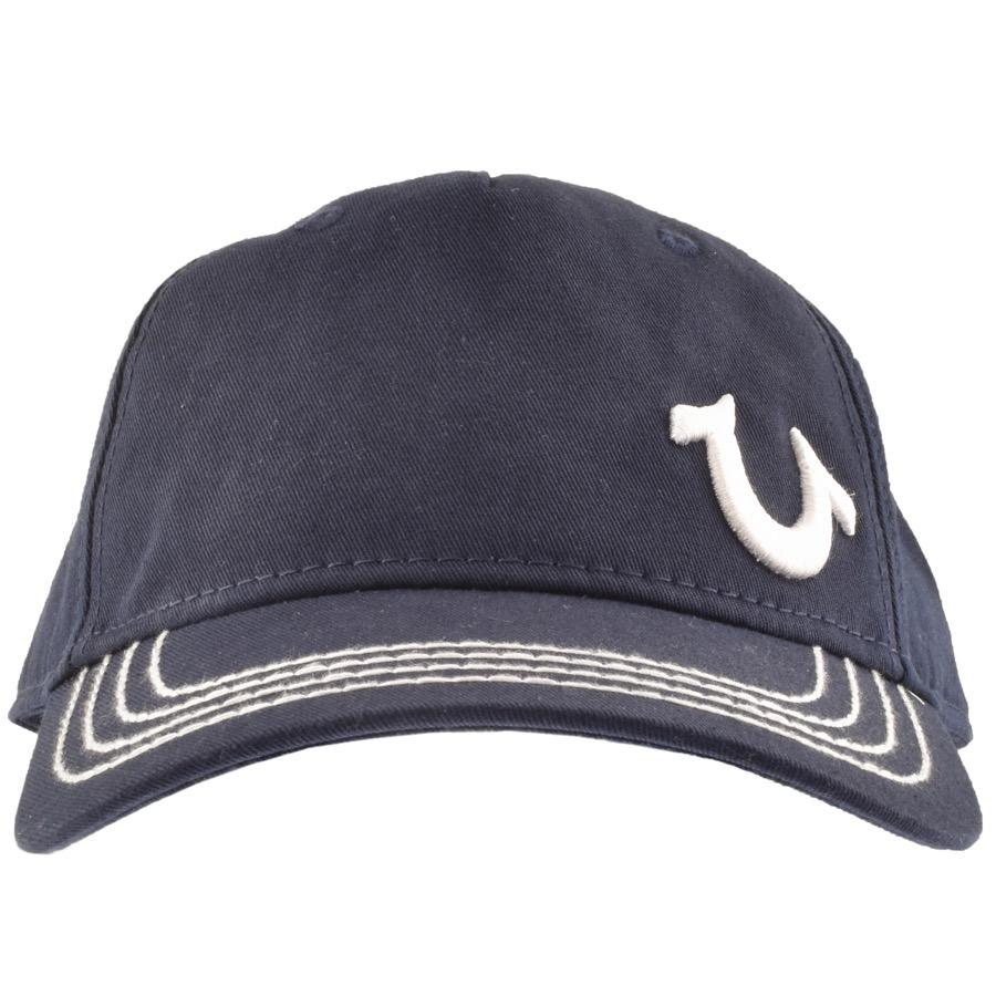 eddf48ad6 True Religion Horseshoe Logo Cap Navy in Blue for Men - Lyst