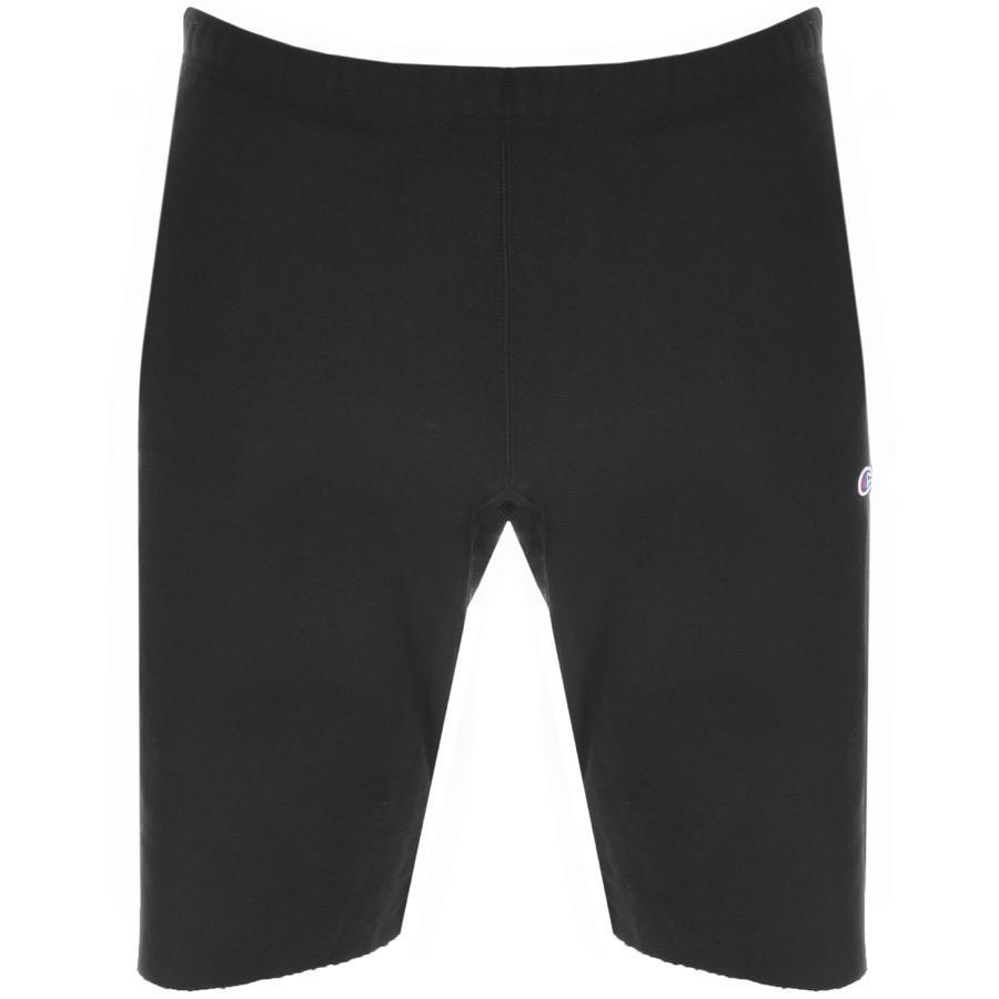 d683d1e4ca42 Lyst - Champion Jersey Logo Shorts Black in Black for Men