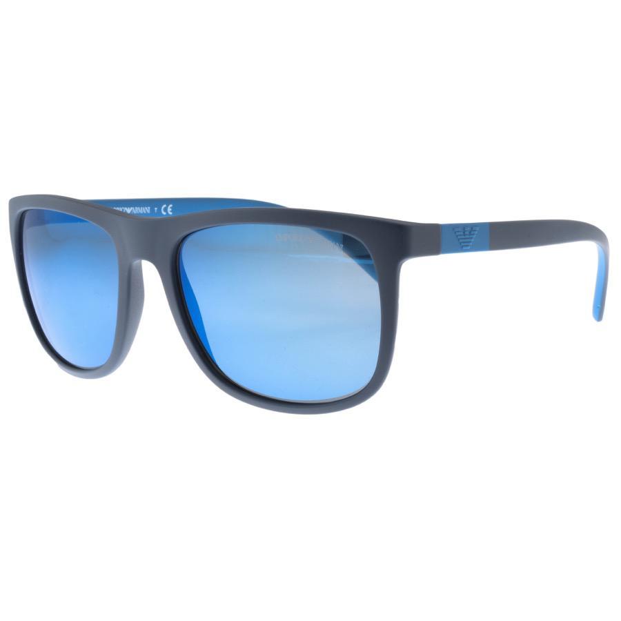 Armani Emporio Ea4079 Sunglasses Blue in Blue for Men - Lyst e5d6329abc