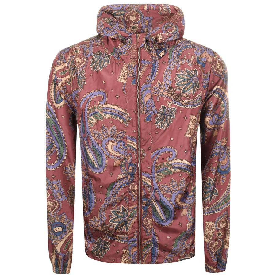 0a78e5d00 Lyst - BBCICECREAM Billionaire Boys Club Paisley Jacket Red in Red ...