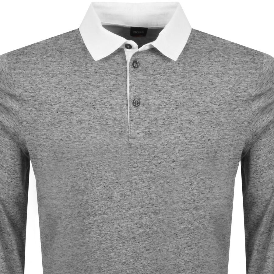 e824521df BOSS by Hugo Boss Boss Orange Piccadil Polo T Shirt Grey in Gray for ...