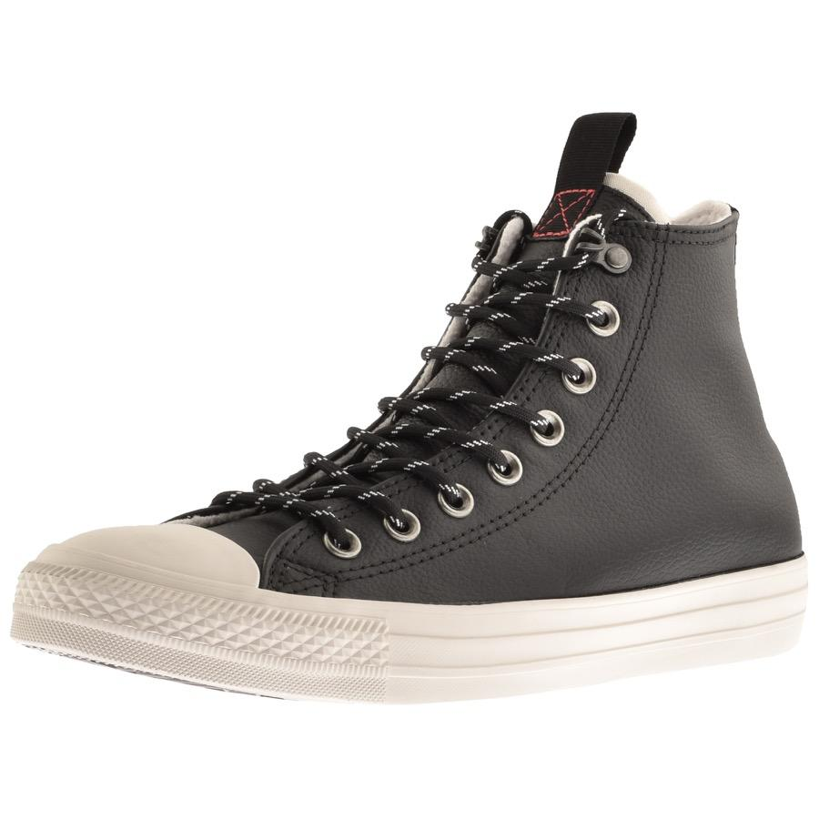 7226232f15199a Lyst - Converse Desert Storm Hi Top Trainers Black in Black for Men