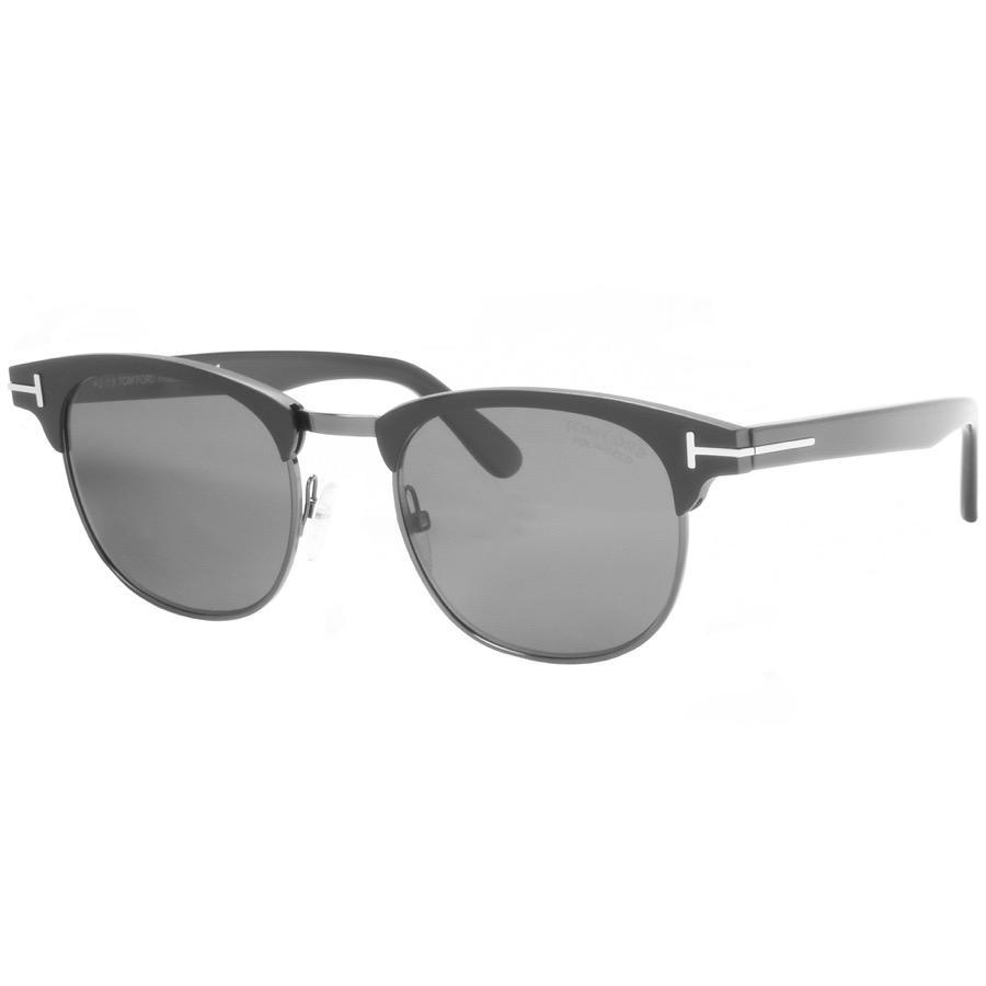 e5cad1b5655 Lyst - Tom Ford Laurent Sunglasses Black in Black for Men
