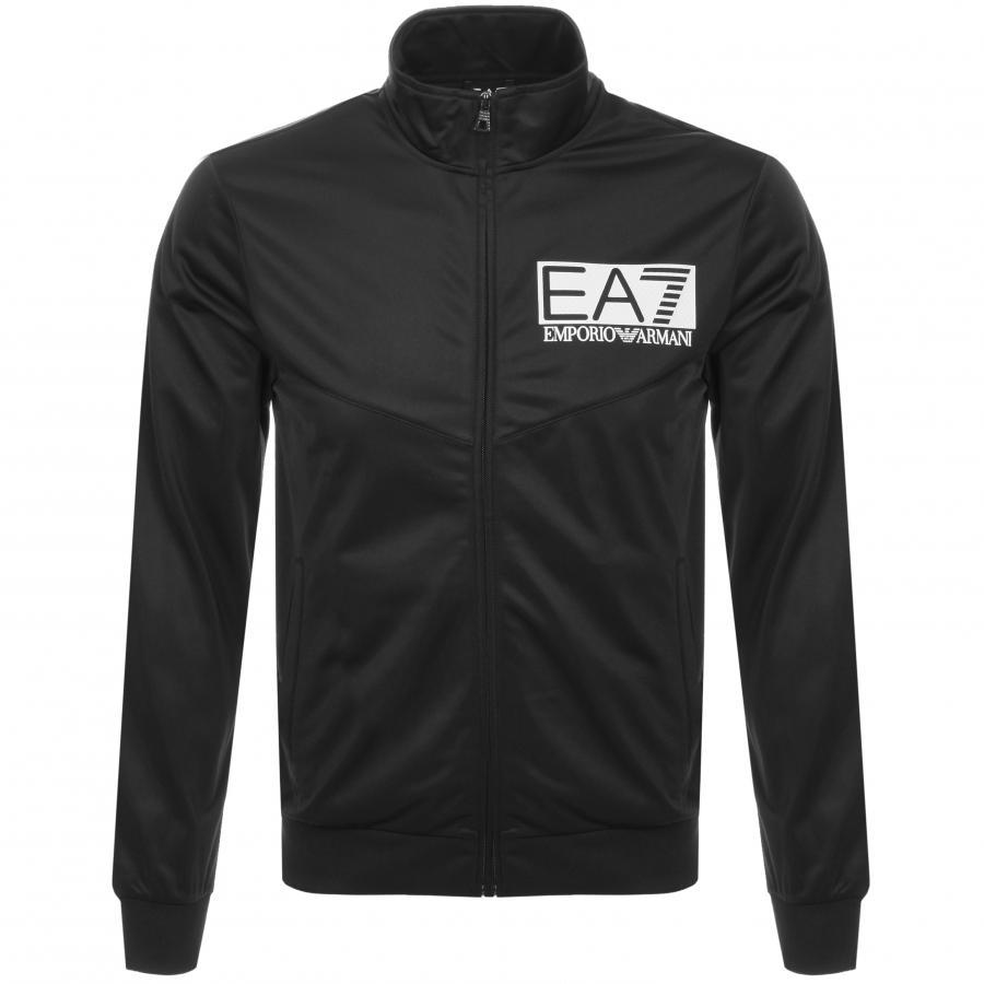 3f5b720bae6 Lyst - Ea7 Visibility Logo Tracksuit Black in Black for Men