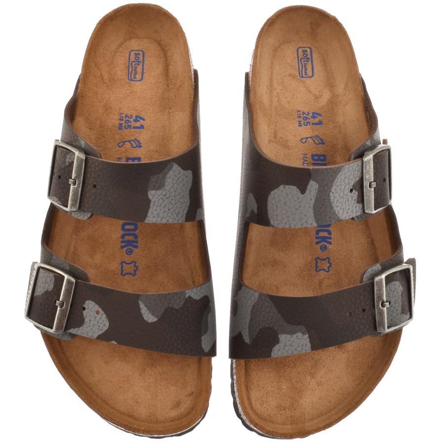 0eb8dced6b67 Birkenstock Arizona Sandals Camou Brown in Brown for Men - Lyst