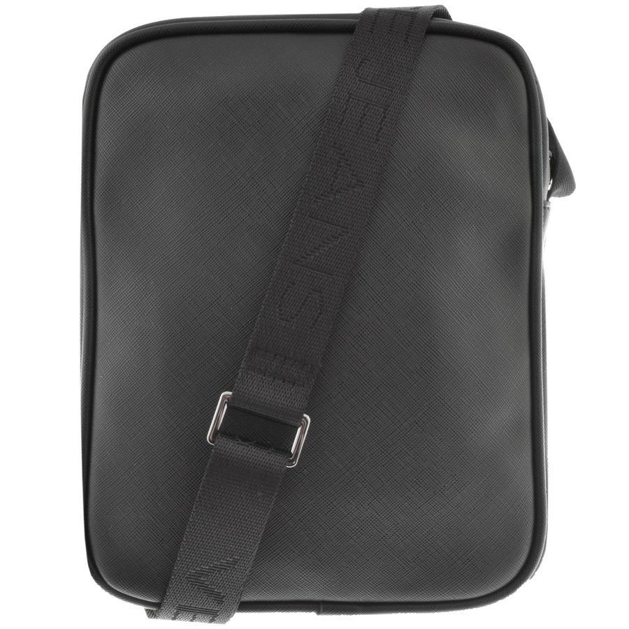 e025754b184 Versace Jeans Jeans Logo Shoulder Bag Black in Black for Men - Lyst