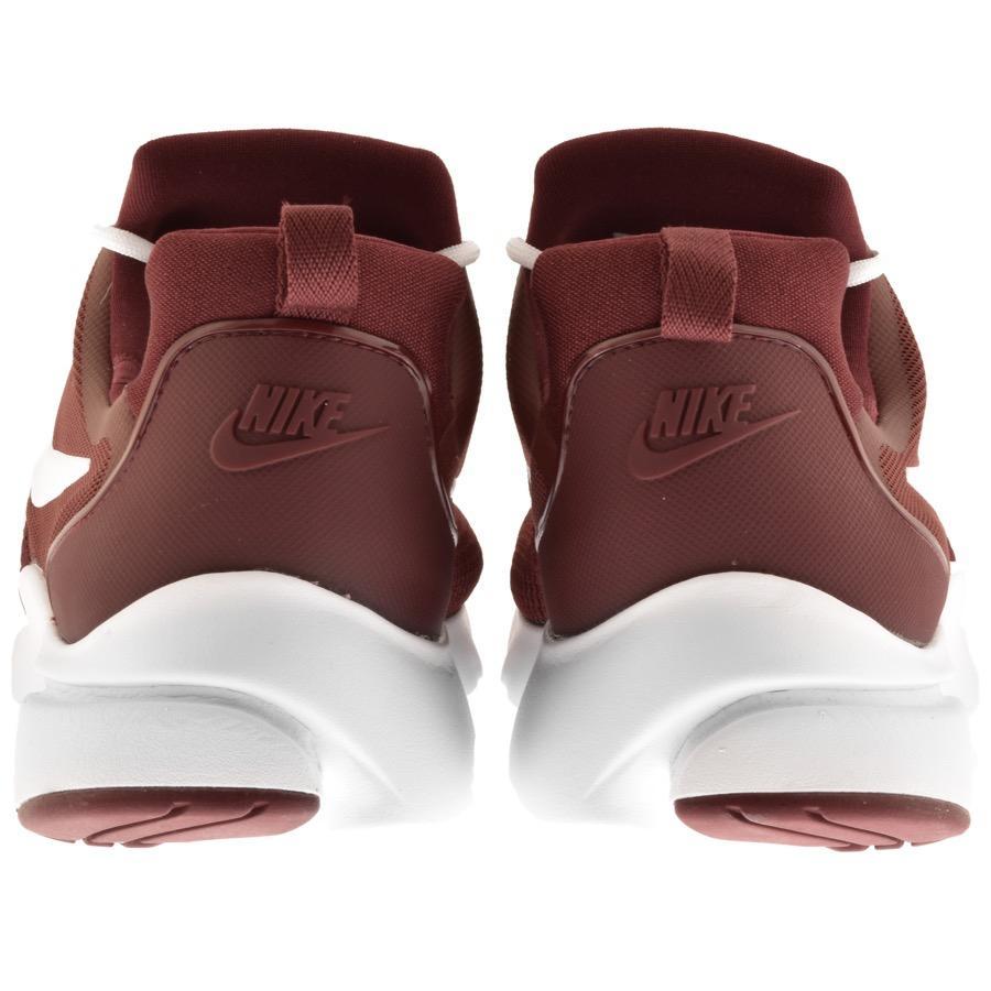 Lyst - Nike Presto Fly Trainers Burgundy for Men 96a447dd0