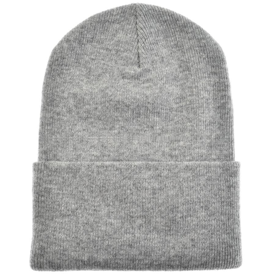 037093c92e3 Carhartt - Gray Watch Beanie Hat Grey for Men - Lyst. View fullscreen