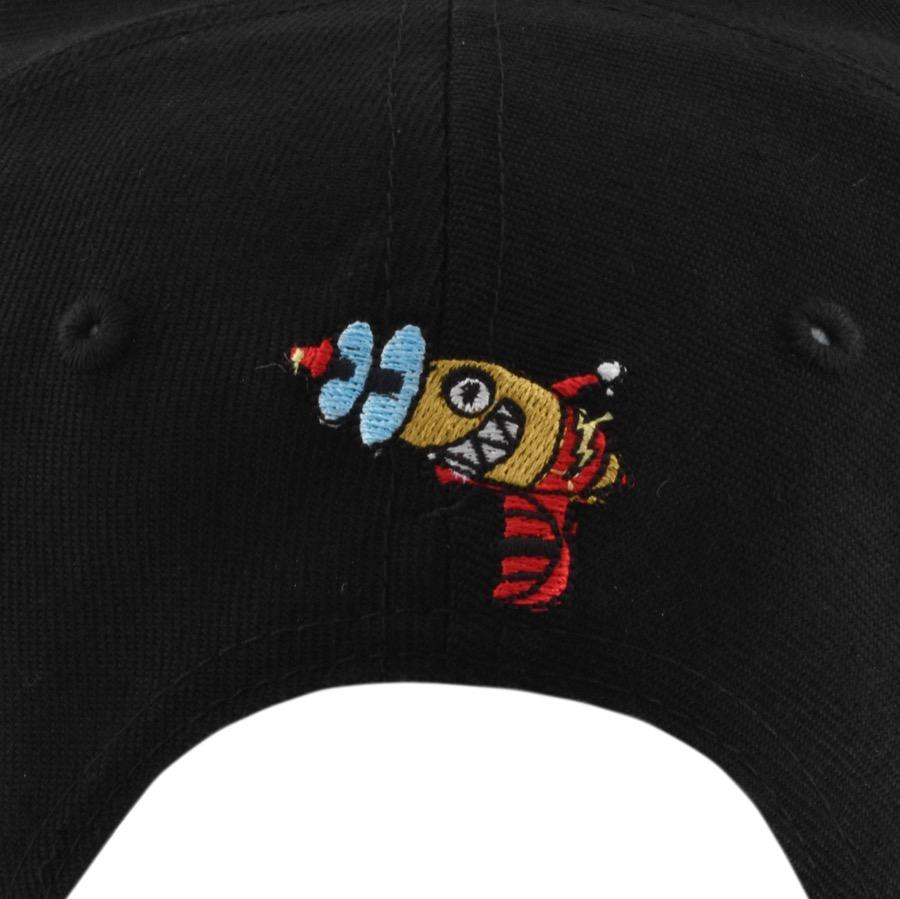 bbbf7c2c1b0 BBCICECREAM - Billionaire Boys Club Arch Logo Cap Black for Men - Lyst.  View fullscreen