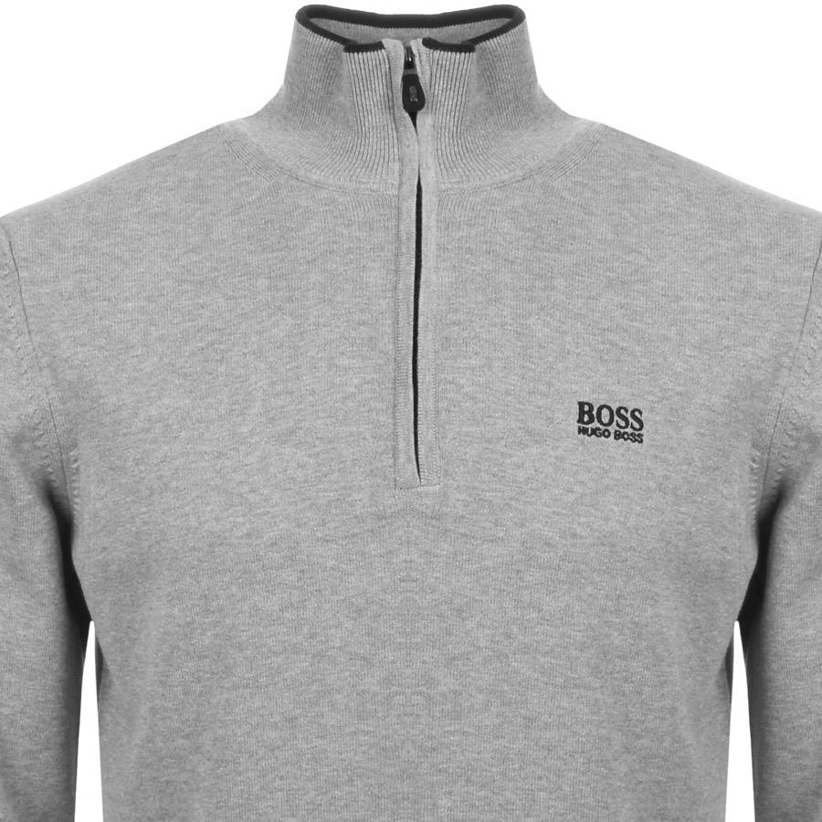 5e419b4fbdb8 BOSS Athleisure Boss Green Zime Knitted Jumper Grey in Gray for Men ...