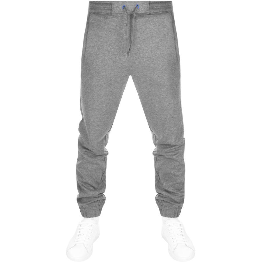a710f4894fc6e BOSS Green Hadiko Jogging Bottoms Grey in Gray for Men - Lyst