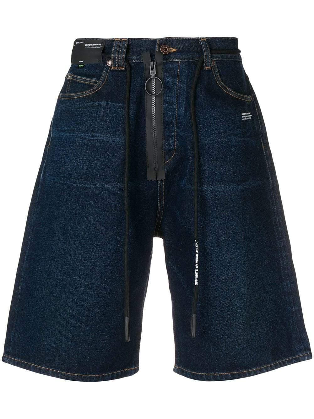 5f8674dcf8f0 Lyst - Off-White c o Virgil Abloh Shorts in Blue for Men