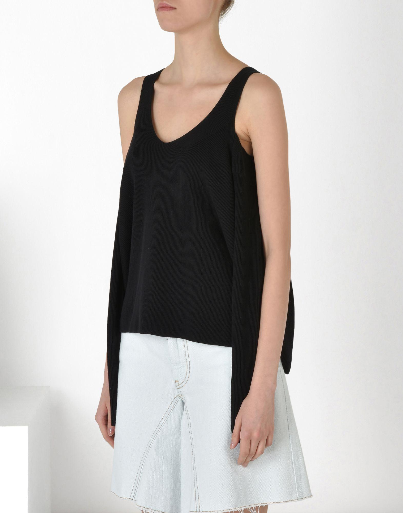 Pull Over Onto Shoulder : Mm by maison martin margiela shoulders out pull over in