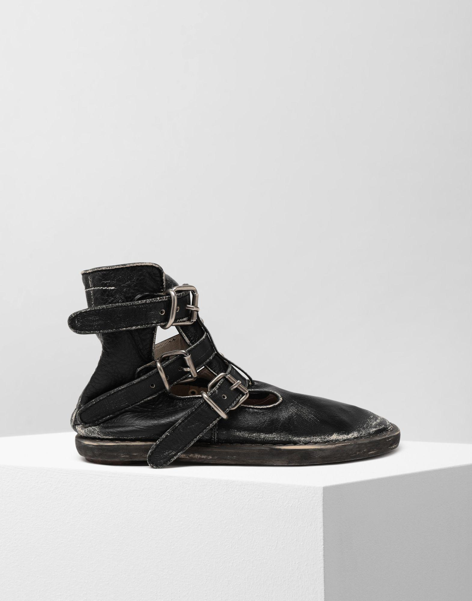 9b7e1d45f43d Lyst - MM6 by Maison Martin Margiela Fuss-bett High Top Sandals in Black