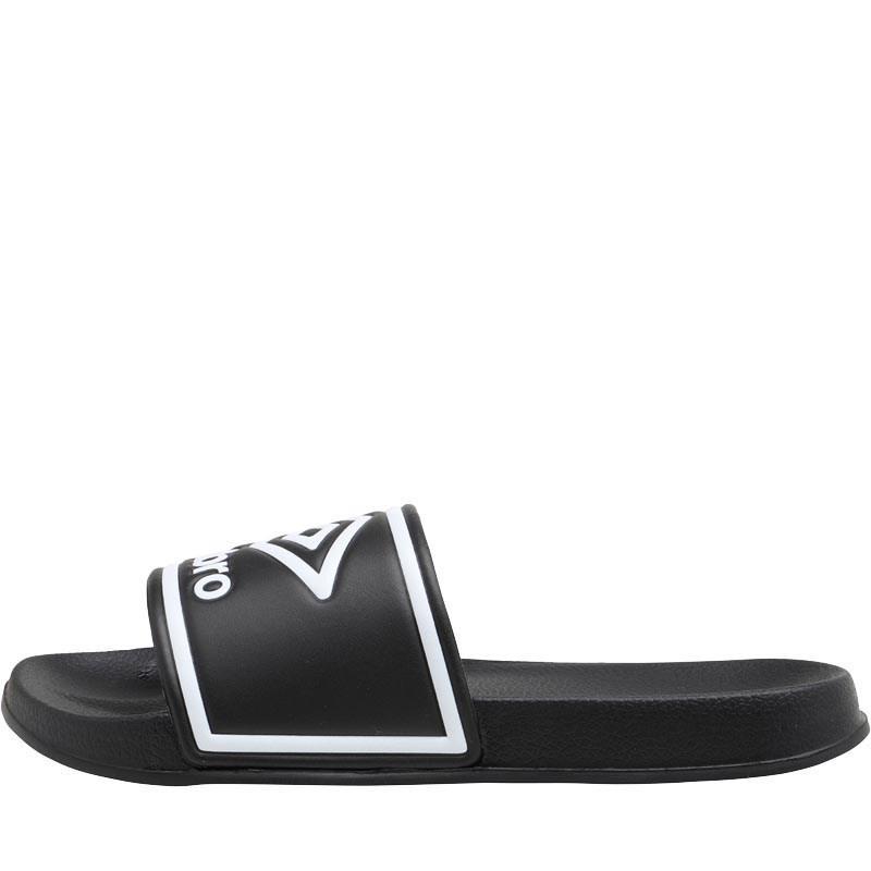 bd12040822953 Umbro - Beach Pool Sliders Black white for Men - Lyst. View fullscreen
