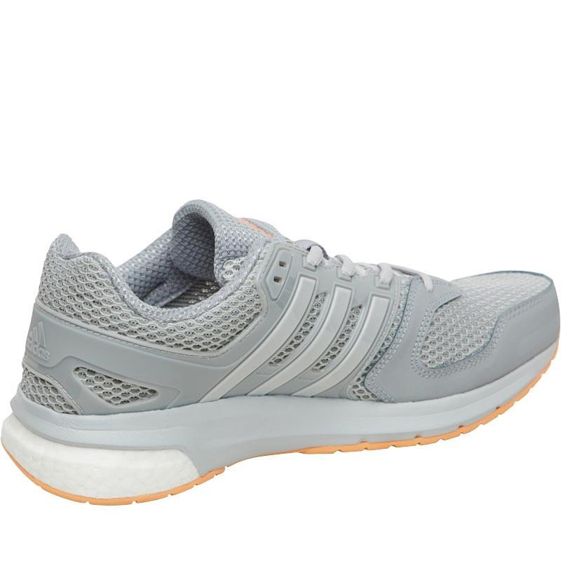Adidas Questar Boost neutral zapatillas Mid GRIS / solid GRIS / fácil