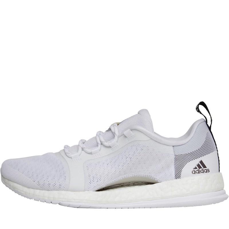 a853a6e644d55 adidas Pureboost X Trainer 2.0 Training Shoes Footwear White silver ...