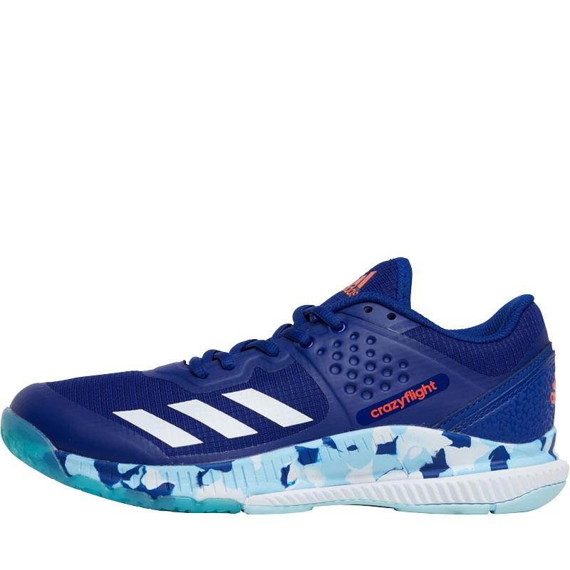 official photos f6be5 770b5 adidas Crazyflight Bounce Trainers Mystery Ink footwear White icey ...