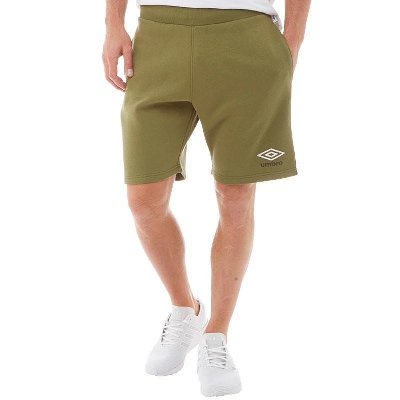 1c96fc85a Umbro - Green Sweat Shorts Capulet Olive/white/black for Men - Lyst. View  fullscreen