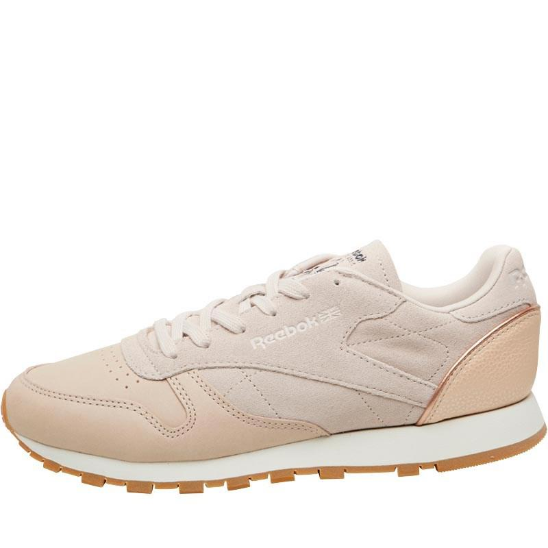 11800d1d606 Reebok Leather Golden Neutrals Trainers Vegtan-sandtrap rose Gold ...