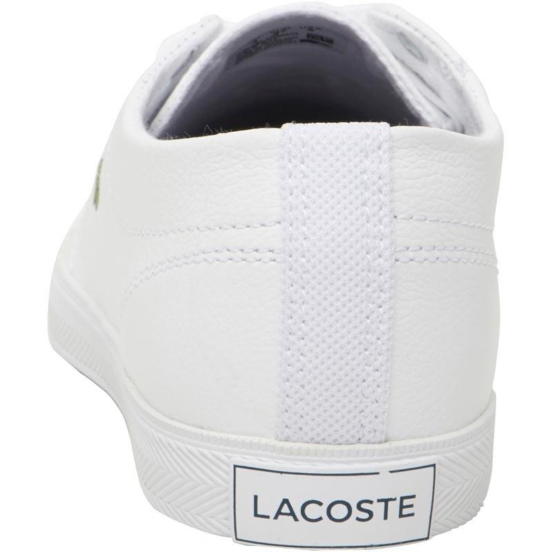 09a2fc44cdd0f Lacoste Riberac Leather Trainers White white in White - Lyst