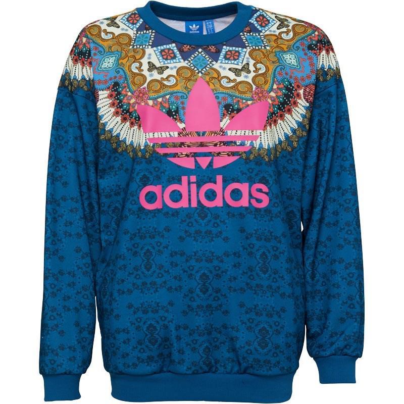 9479ce2f7b3 adidas Originals X The Farm Company Borbomix Sweatshirt Multicolour ...
