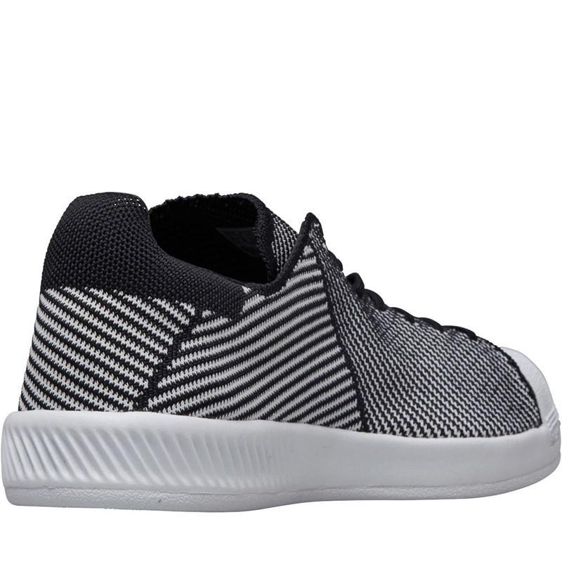 b0bf77a54 adidas Originals Superstar Bounce Primeknit Trainers Core Black ...