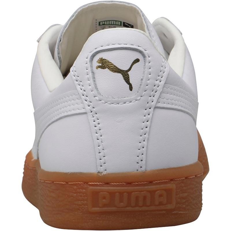 a19338c374178 PUMA Basket Classic Lfs Trainers White gum in White for Men - Lyst