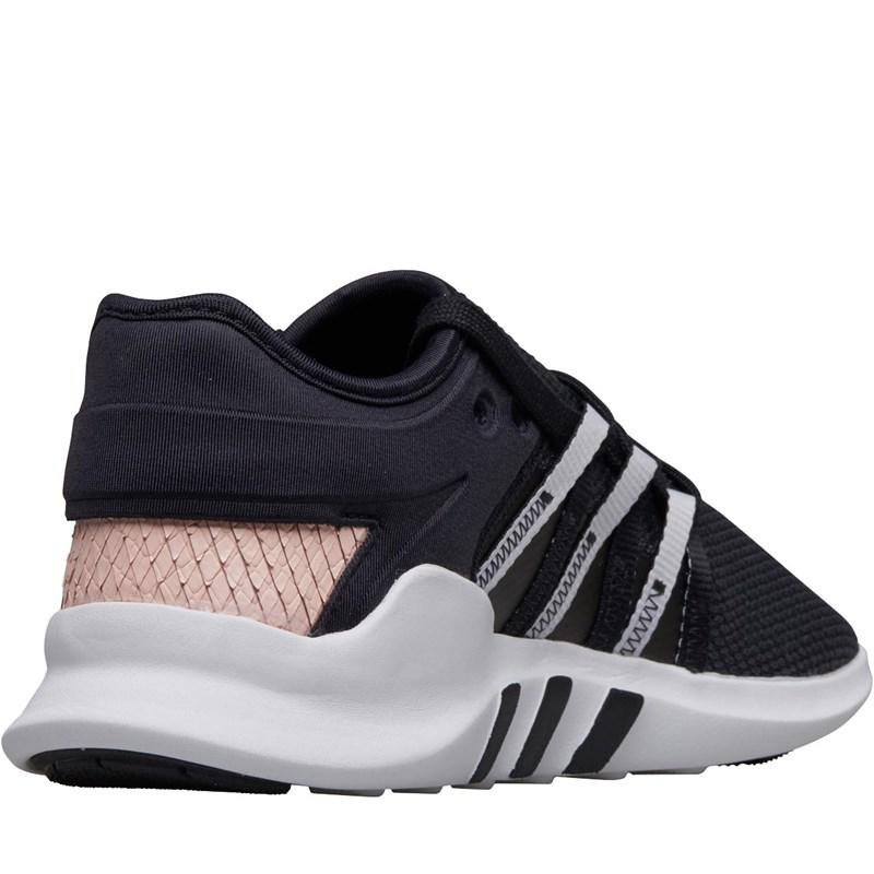 0f1761ad753e Adidas Originals - Gray Eqt Adv Racing Trainers Core Black cloud White icey  Pink. View fullscreen