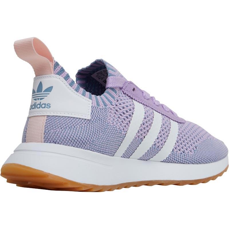 Adidas Originals flashback primeknit formadores resplandor purpura / Calzado