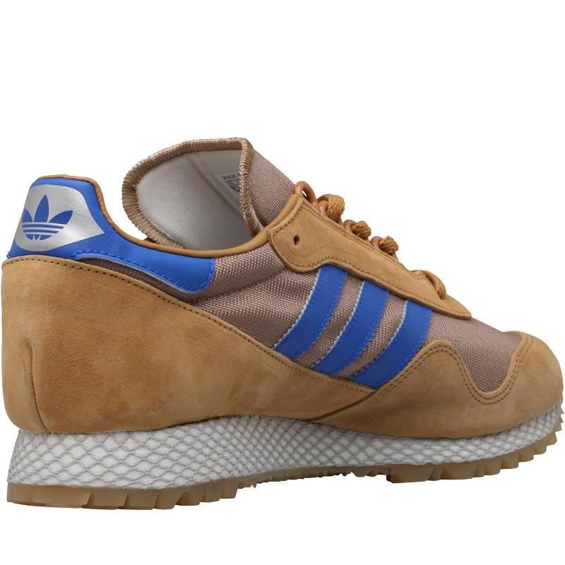 af5c93421ff adidas Originals New York Trainers Mesa/cardboard/gum 2 in Blue for ...