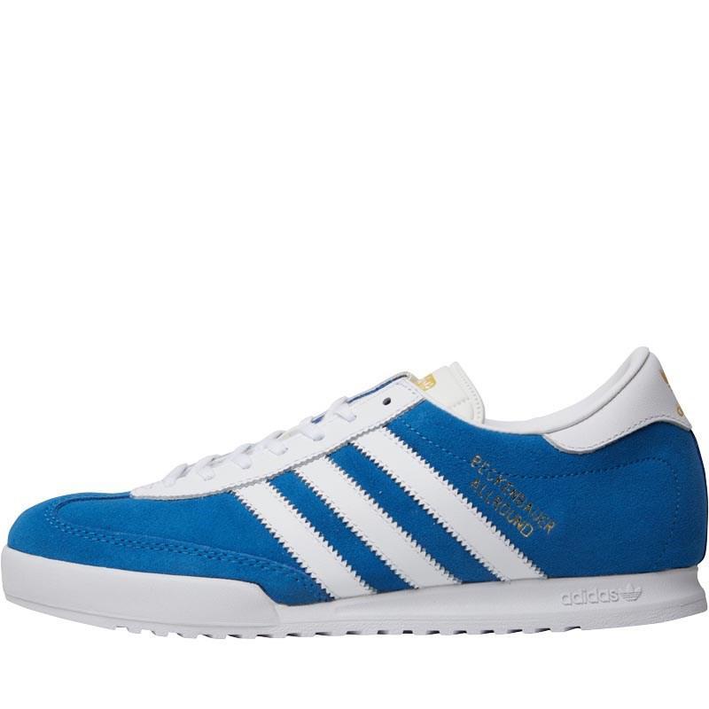 5864ebbde258 adidas Originals Beckenbauer All Round Trainers Bluebird white ...