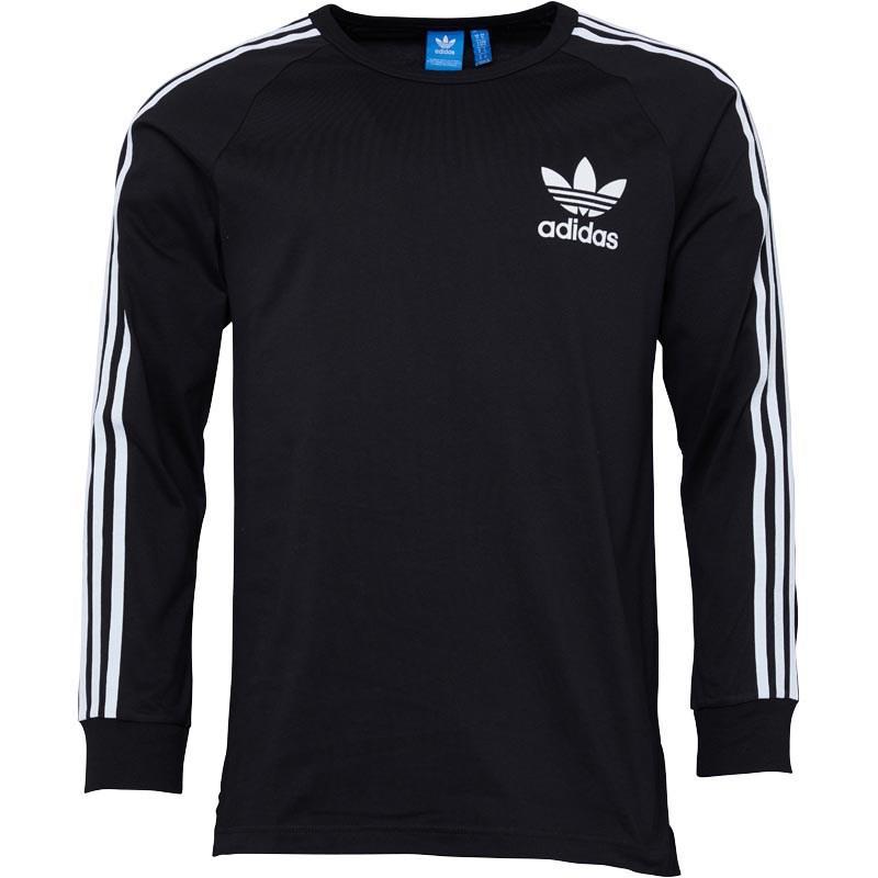 6d78d3ca3aa adidas Originals Adicolour Fashion Long Sleeve T-shirt Black in ...