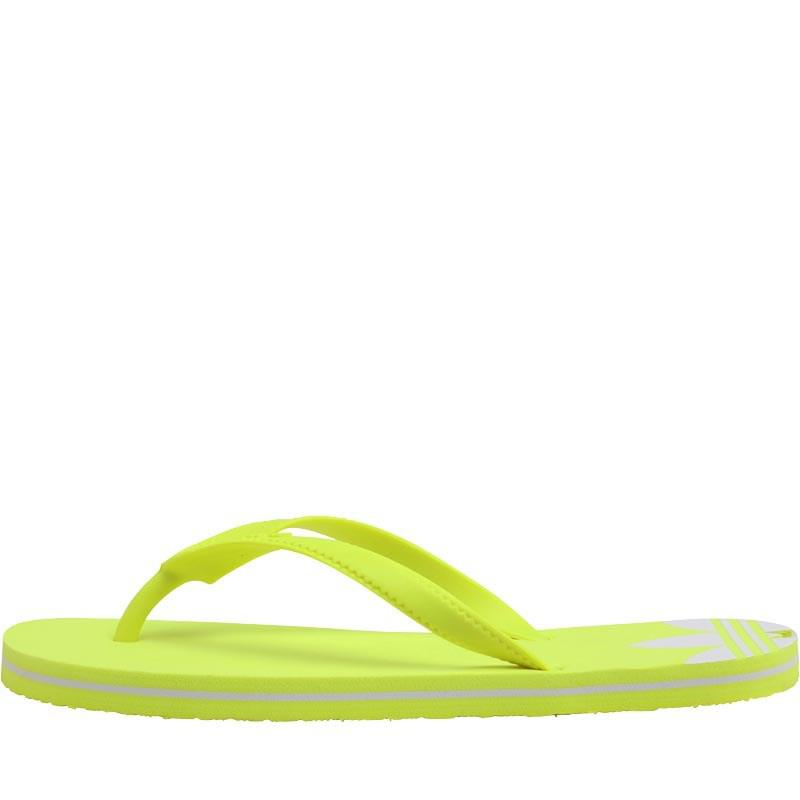 4c35050f7620 adidas Originals Adisun Flip Flops Solar Yellow solar Yellow white ...