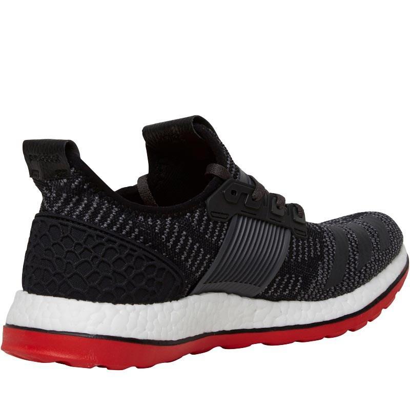 Adidas Puro Slancio Zg Primeknit Neutrale Di Nero Scarpe Da Corsa, Nucleo Nero Di / Buio 7e7101