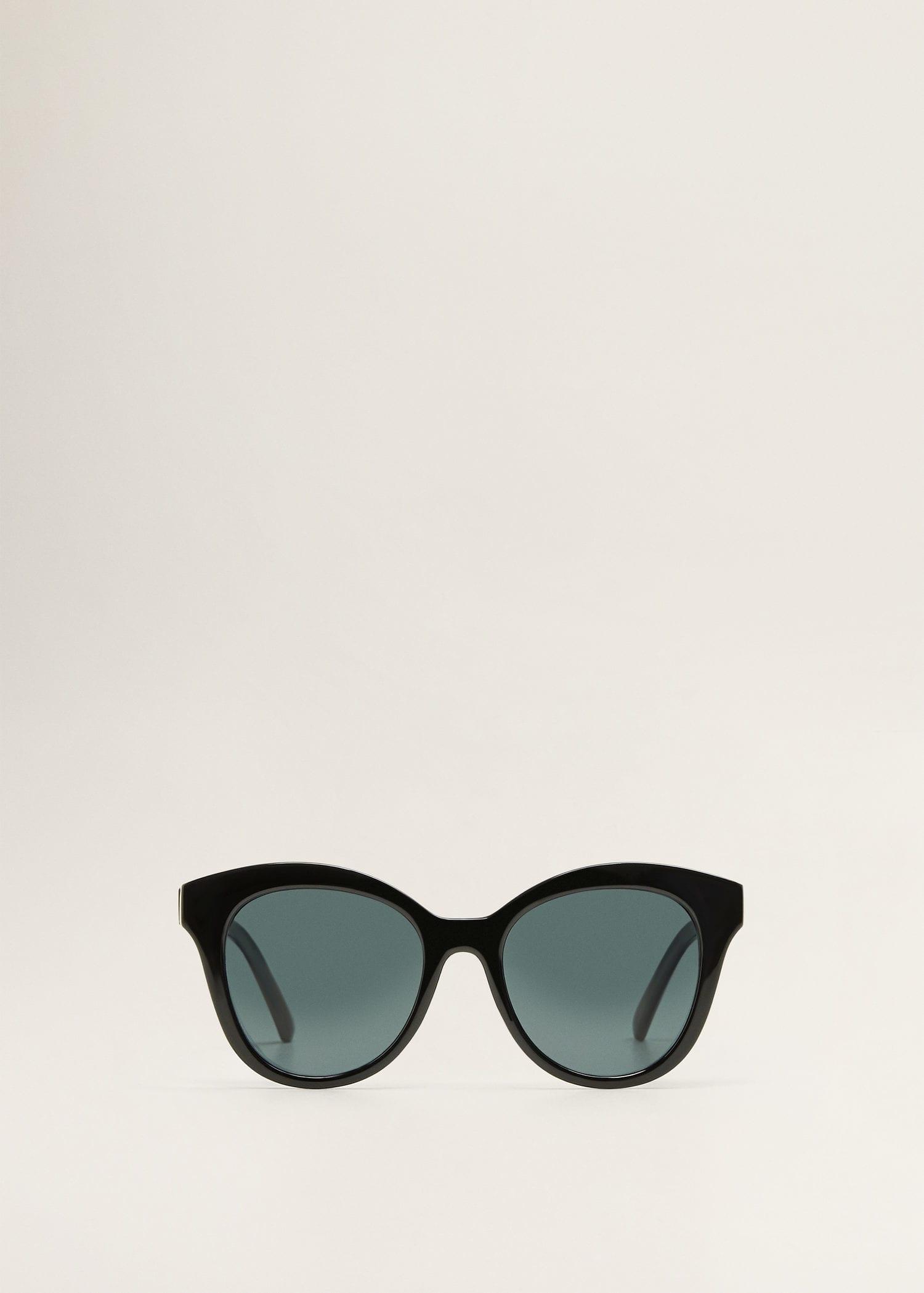 4f0483287d3 Mango Acetate Frame Sunglasses in Black - Lyst