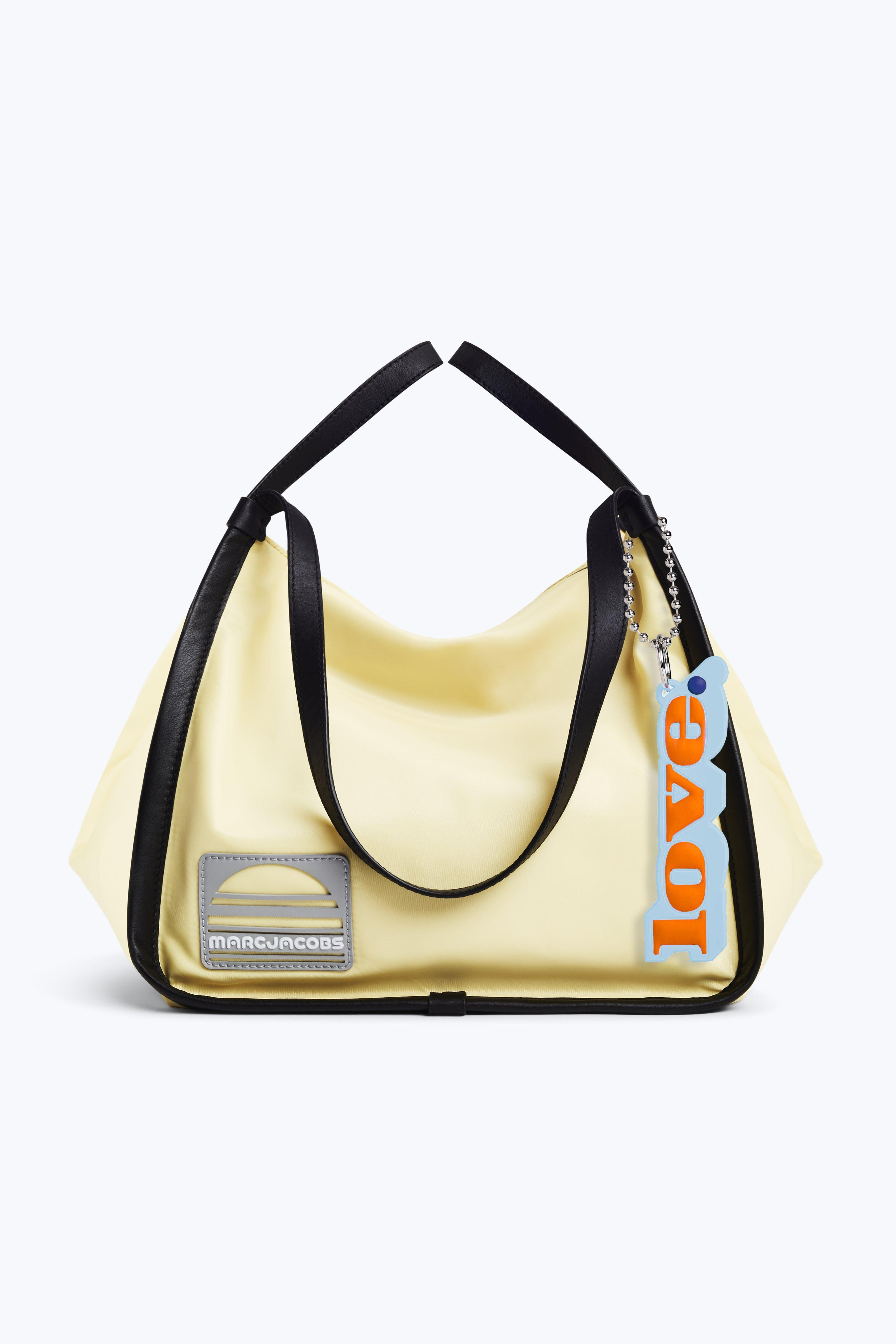 Lyst - Marc Jacobs Nylon Sport Tote in Yellow 6a383c1074dc3
