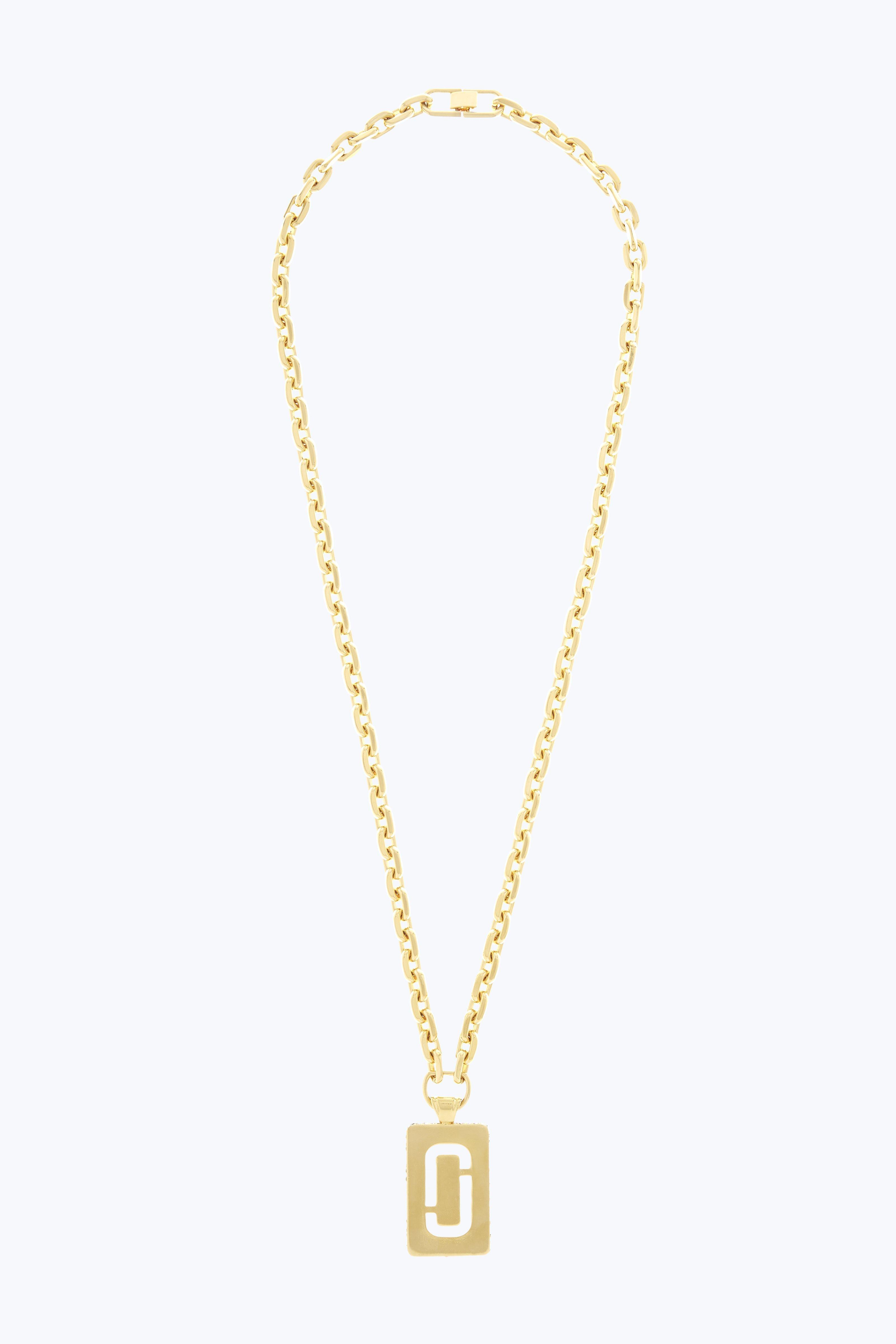 Double J Pave pendant necklace - Metallic Marc Jacobs xtW0g