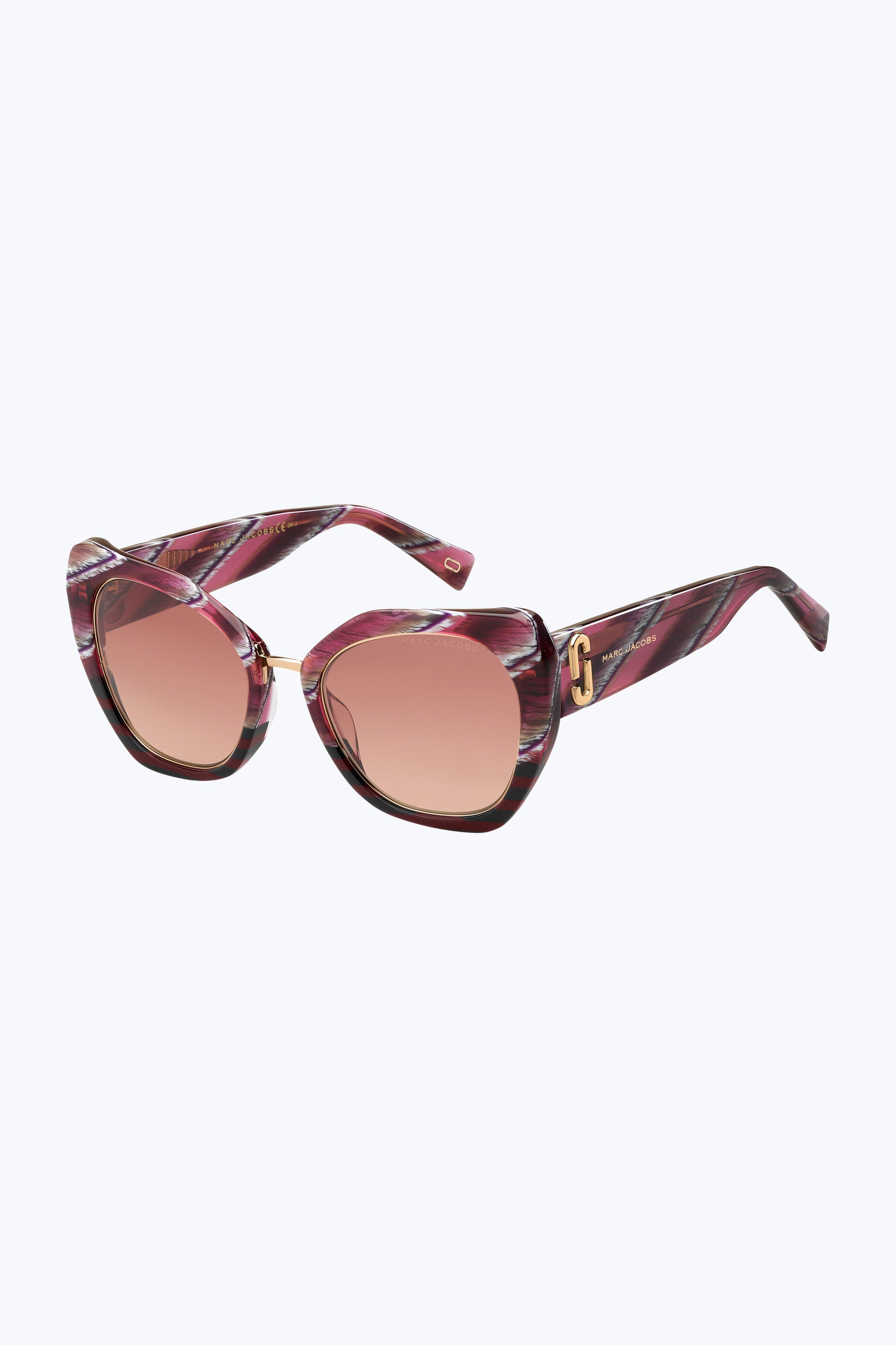 c759c1e4025f Marc Jacobs - Pink Abstracted Cat-eye Sunglasses - Lyst. View fullscreen