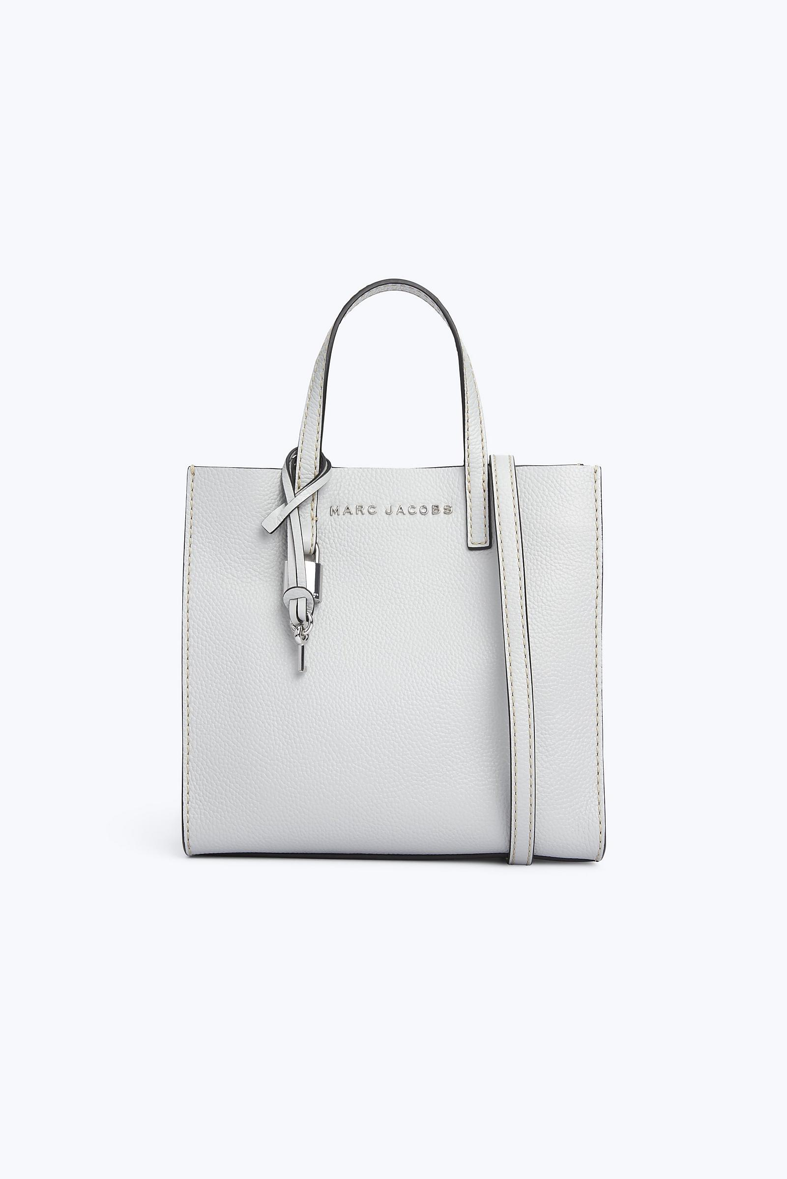 55c172867f71 Marc Jacobs - Gray Mini Grind Tote Bag - Lyst. View fullscreen