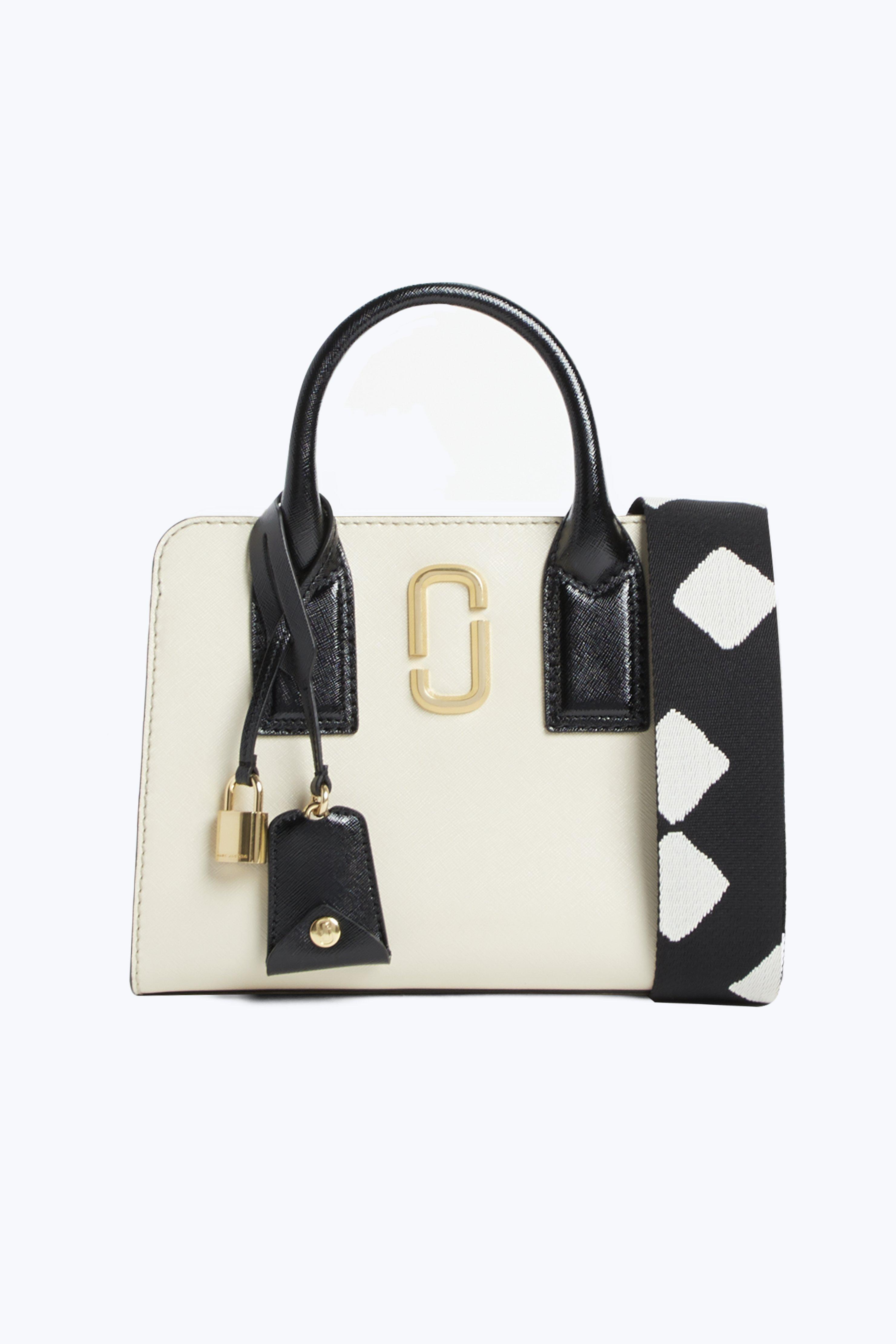 Marc Jacobs Little Big Shot Bag in White - Lyst 2eef092489a23