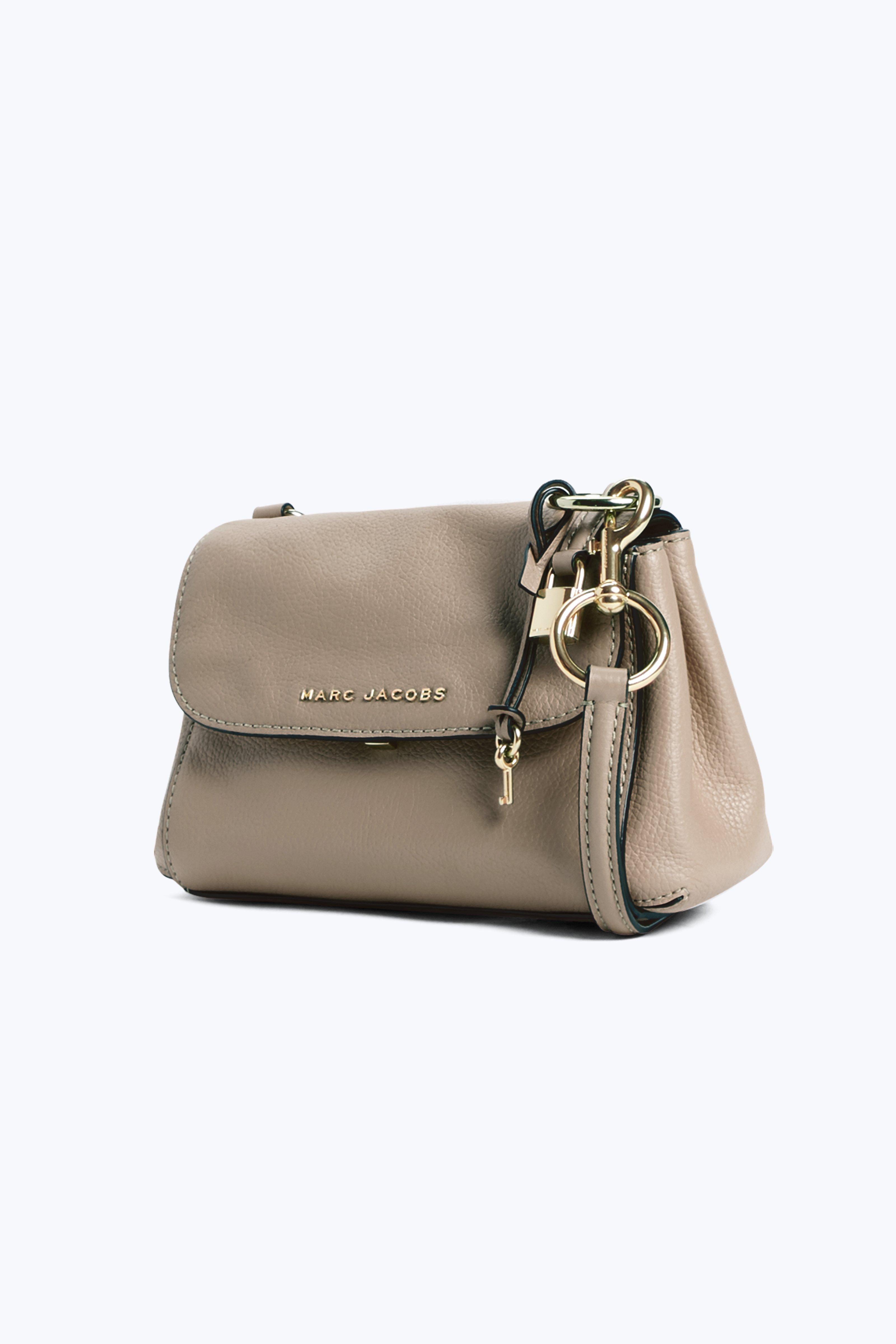 The Boho Grind Crossbody Bag in Light Slate Cow Leather Marc Jacobs 7ZiFvvRKc