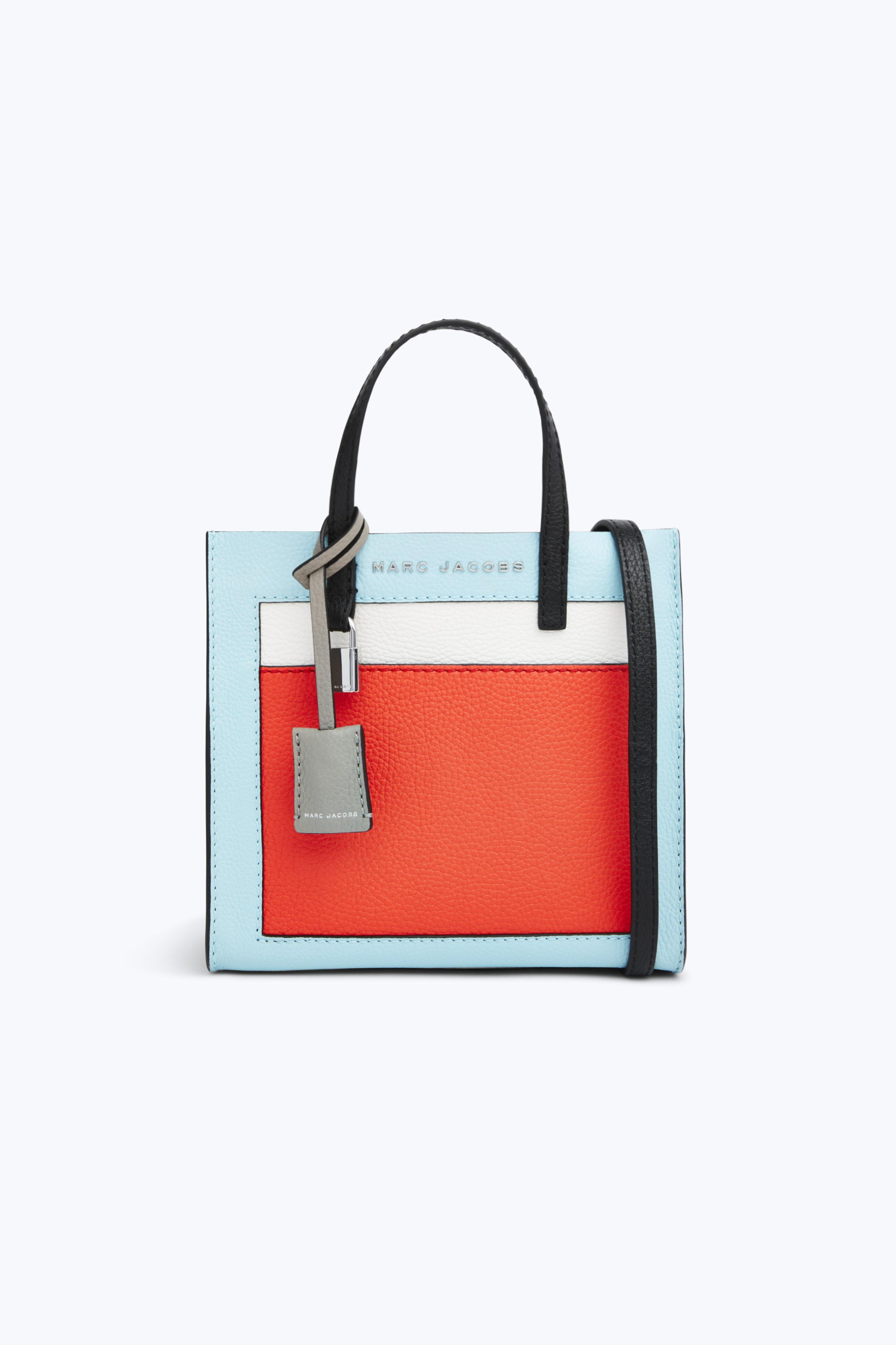 Lyst - Marc Jacobs The Colorblocked Mini Grind Bag 7f046df8ddf3