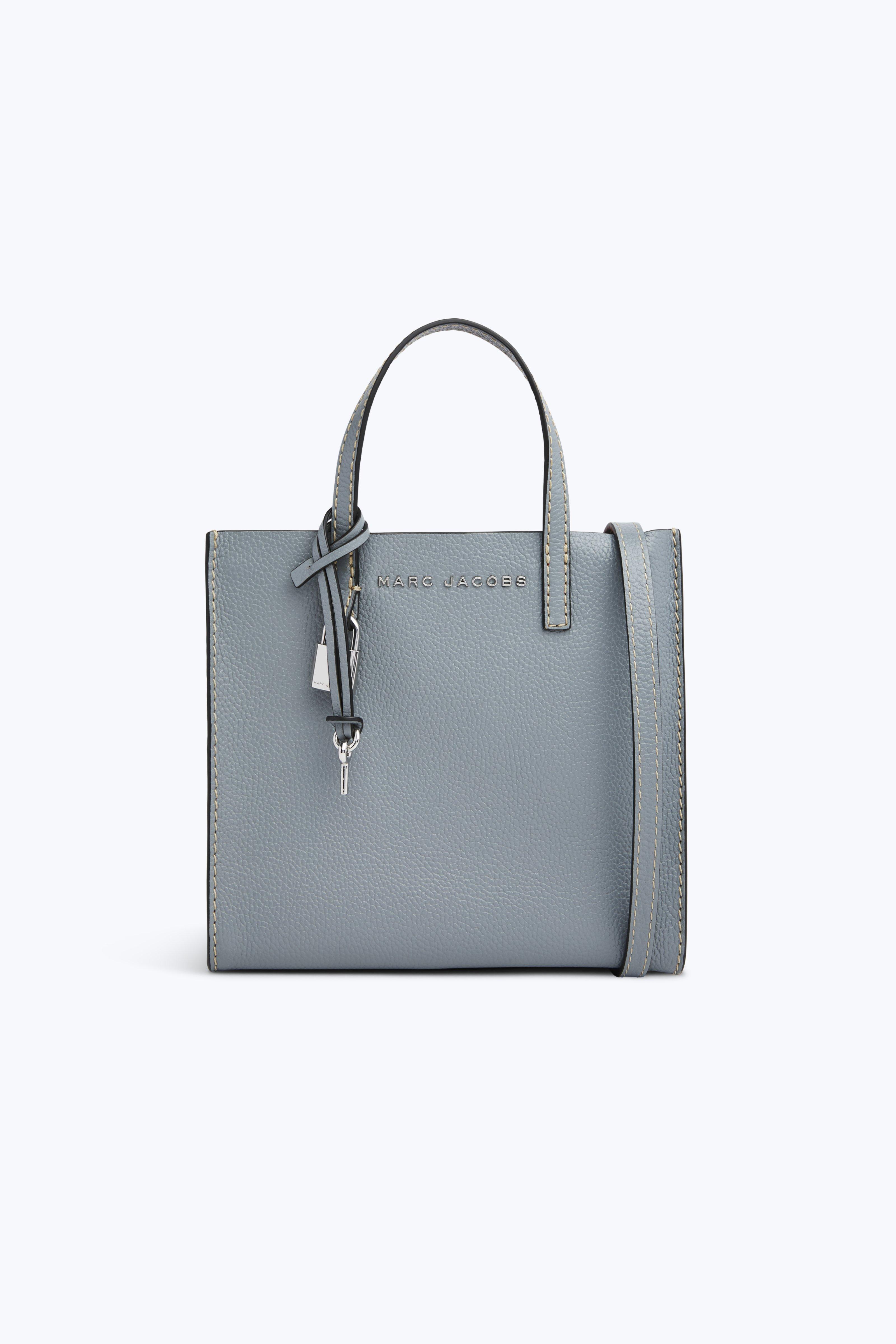 Marc Jacobs - Gray The Mini Grind Bag - Lyst. View Fullscreen 736d1c92db77