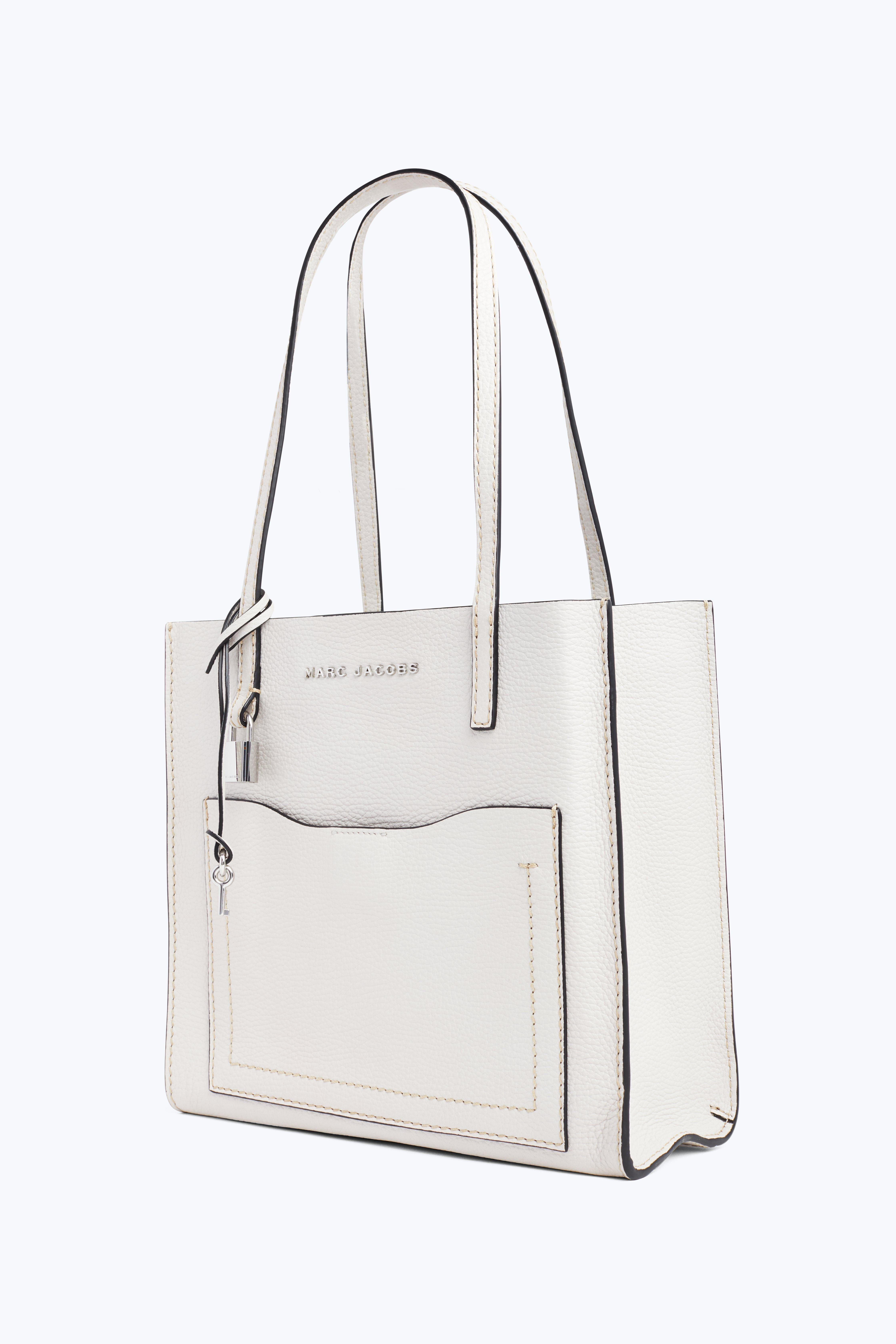 8f16630c0515 Lyst - Marc Jacobs The Medium Grind T Pocket Tote in White