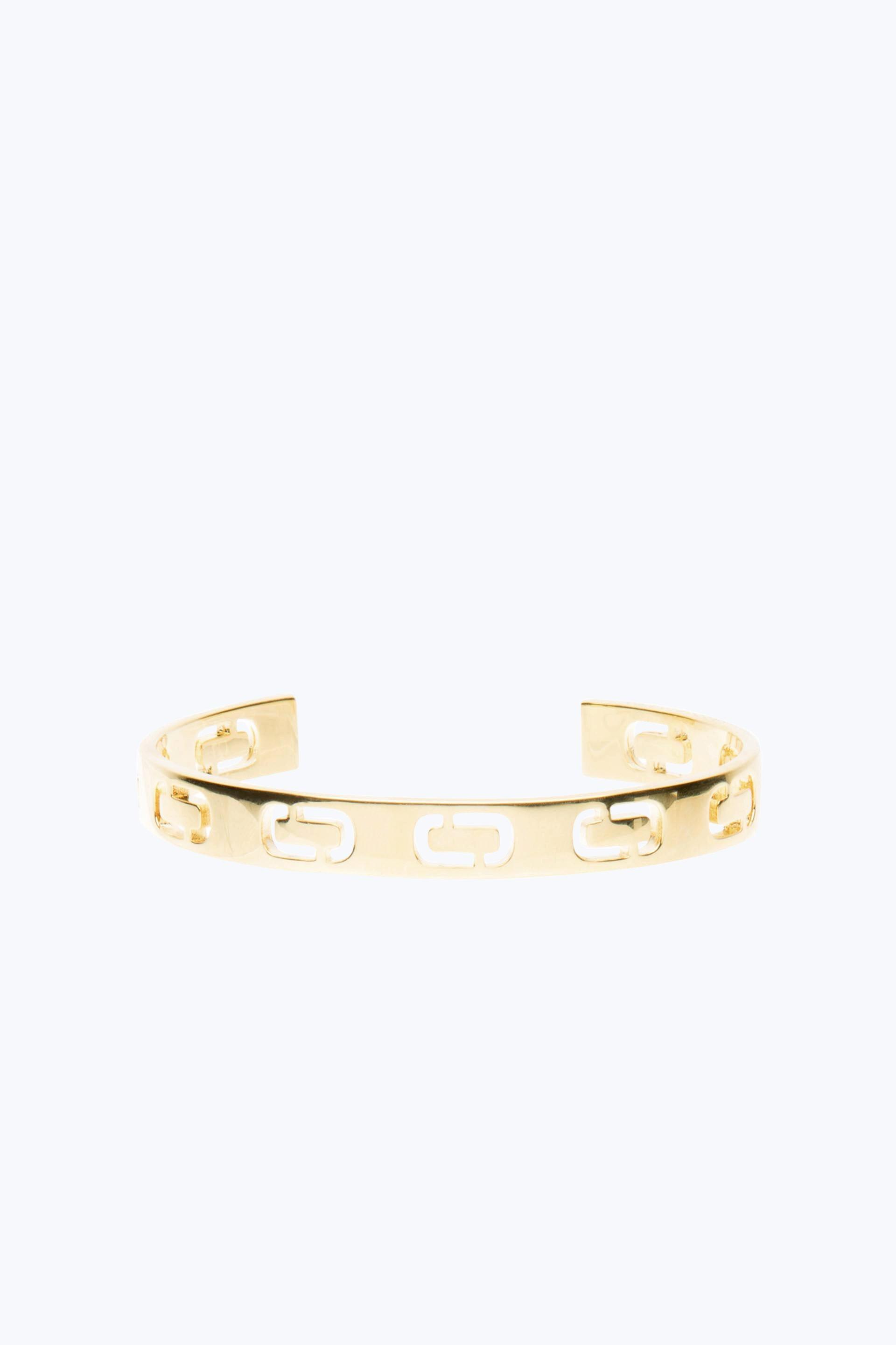 Marc Jacobs Icon Cuff in Metallic Gold qBaKpQN