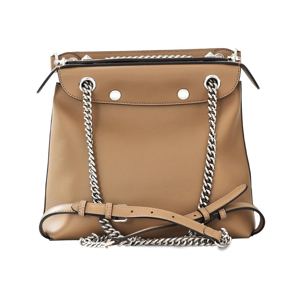 66a58d0805 Lyst - Fendi Back To School Bag in Natural