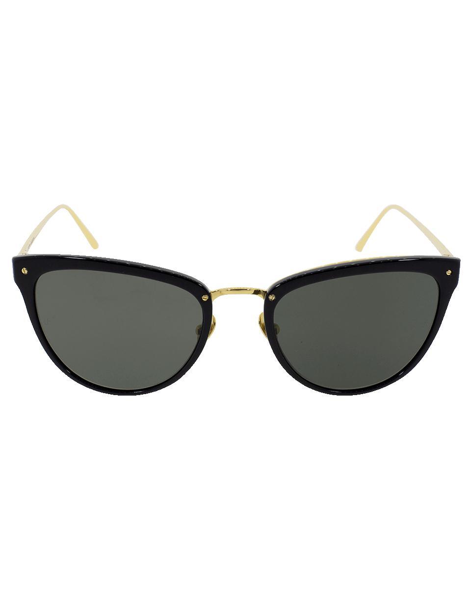 669d2e591e Linda Farrow Cat Eye Sunglasses in Gray - Lyst